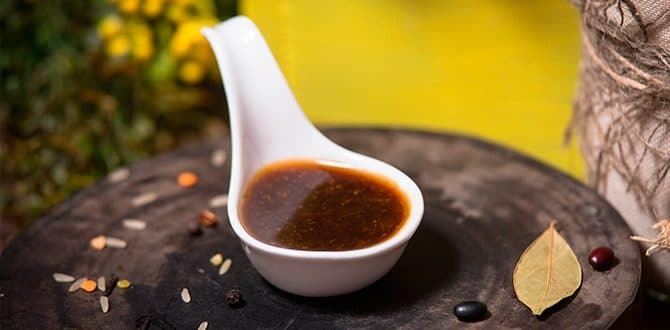 Рецепт устричного соуса