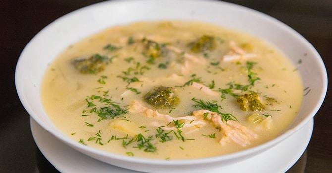 Рецепт супа с брокколи