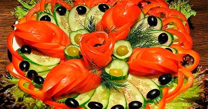 Разберем, как красиво нарезать помидоры