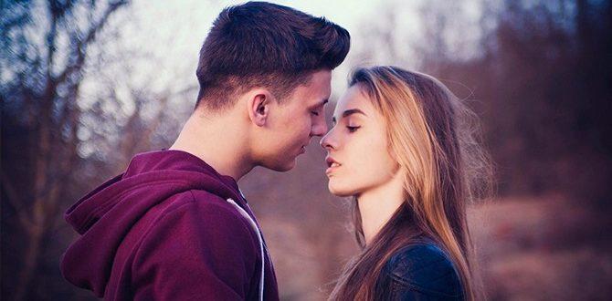 Как правильно поцеловать девушку в первый раз