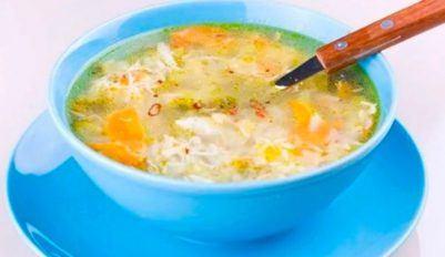 Куриный суп с рисом и картошкой - рецепт блюда