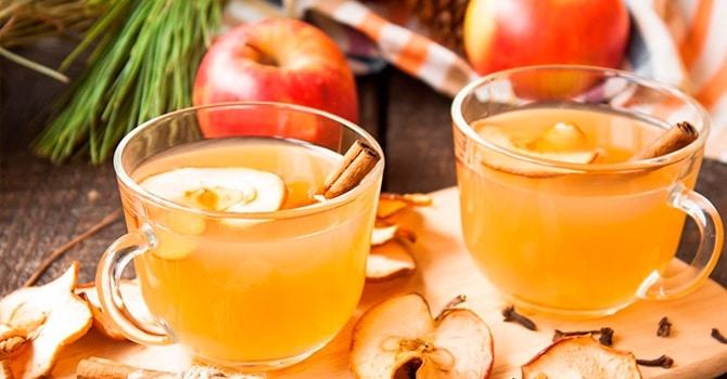 Рецепт с сушеными яблоками