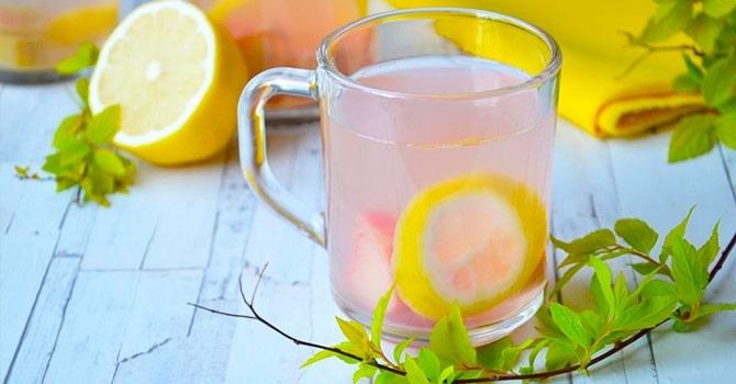 Рецепт с лимоном и имбирем
