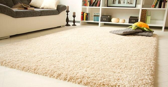 Как почистить коврик с длинным ворсом