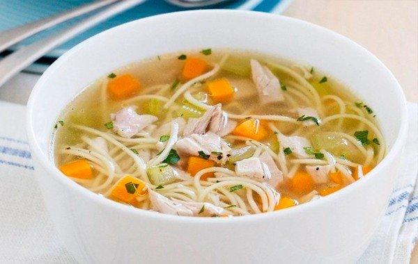 Куриный суп с вермишелью, молодым картофелем и зеленью - рецепт пошаговый с фото