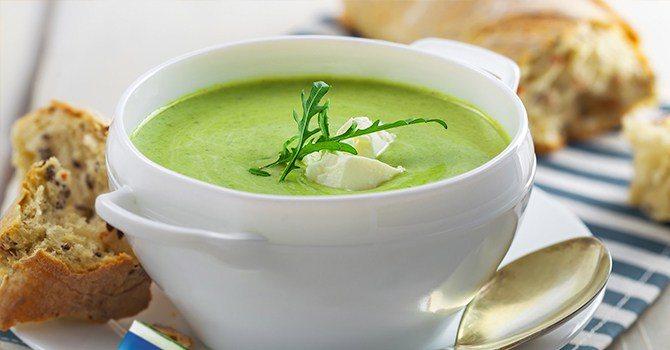 Рецепт супа со шпинатом