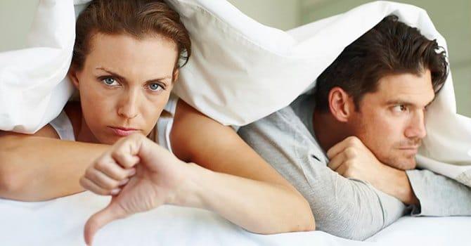 Основные ошибки мужчины в постели