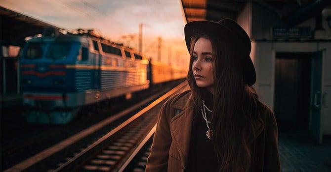 Вам точно надоест провожать и встречать поезда