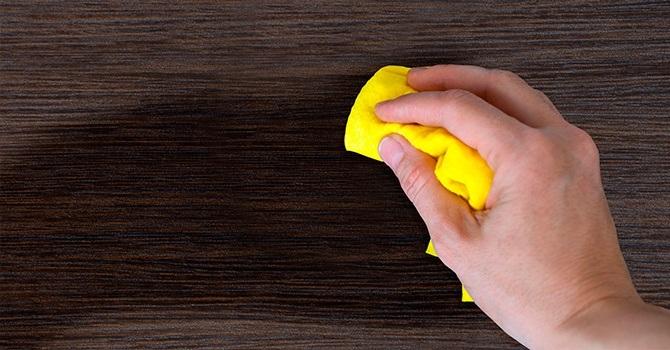 Уборка пыли с кондиционером для белья