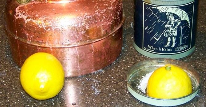 Удаление коррозии с помощью лимонного сока
