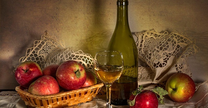 Самодельное яблочное вино