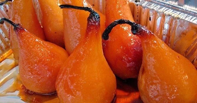Запеченные в духовке фрукты безопаснее для употребления