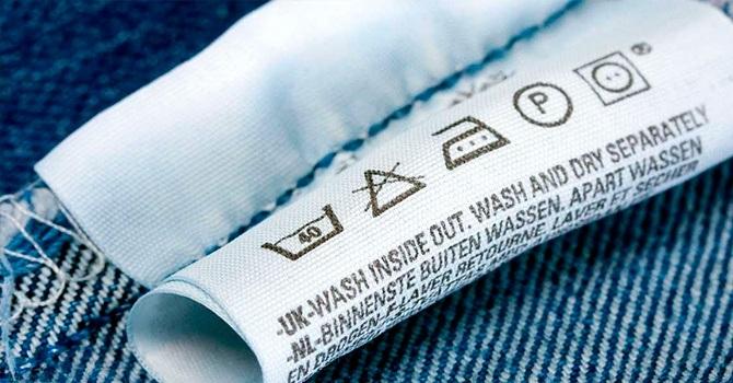 Знаки химчистки и стирки на одежде