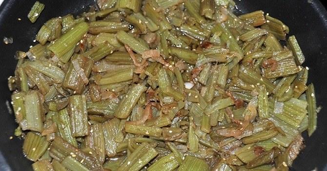 Вкусное блюдо из лопуха