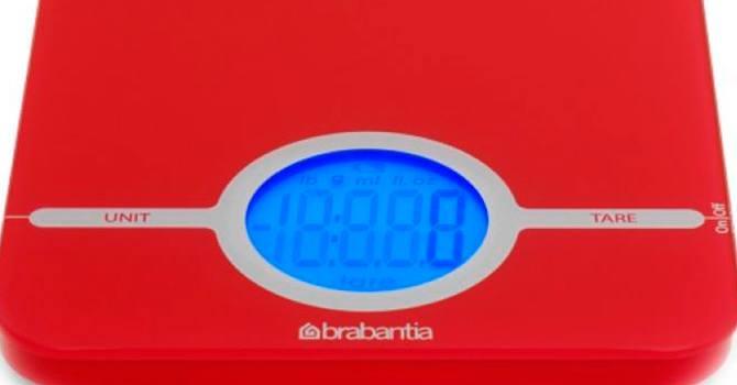 Весы с удобной платформой Brabantia 480744
