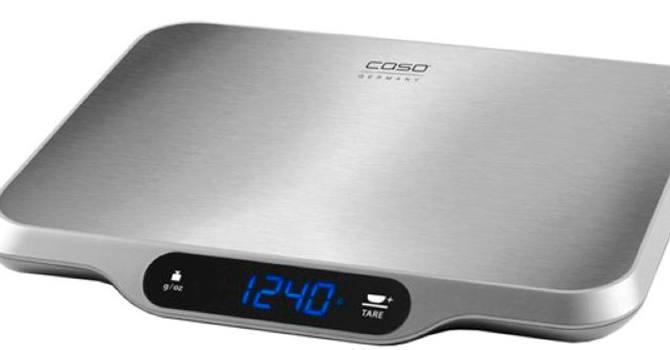 Весы с увеличенной грузоподъёмностью Caso L 15