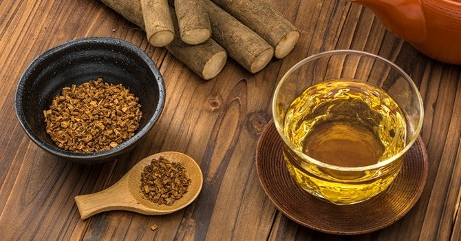 Завариваем чай из лопуха, пырея и одуванчика
