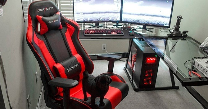 Удобное кресло для геймеров