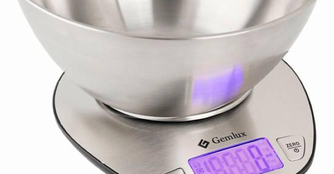 Весы с чашей Gemlux GL-KS5SB