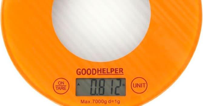 Весы Good Helper KS-S03 Orange