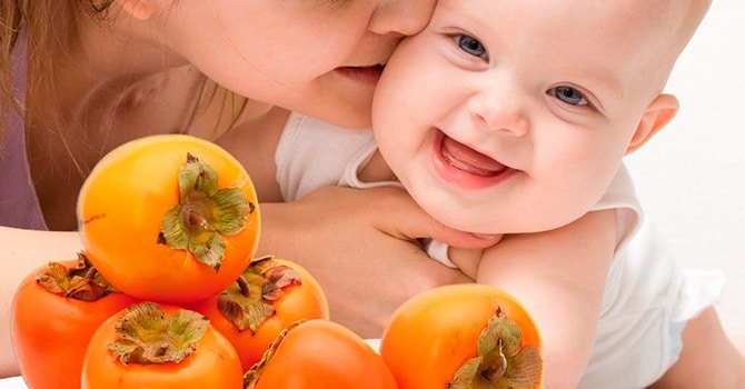 Хурма очень полезна для женщин и детей