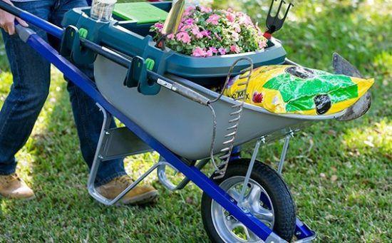 Выбор для огорода садовой тачки