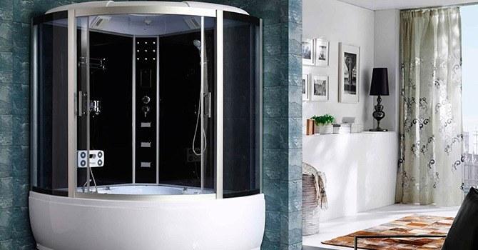 Устройство, включающее в себя душ и ванну