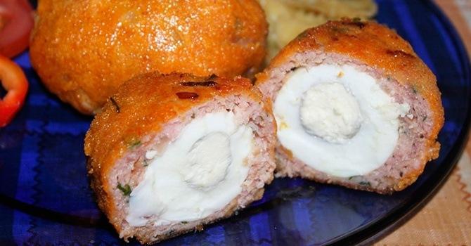 Рецепт с яйцом