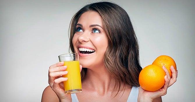 Женщинам особо полезны цитрусовые
