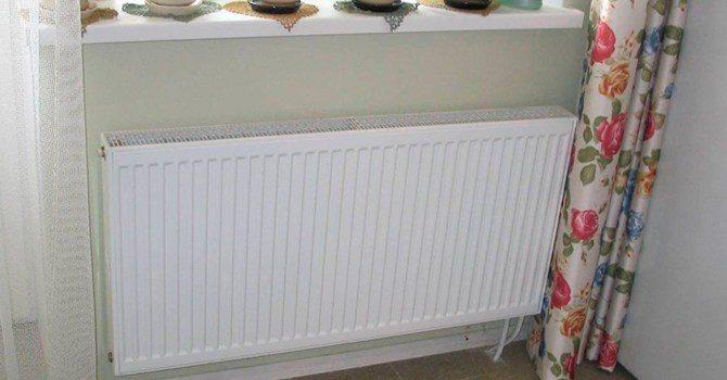 Не прочная панель радиатора