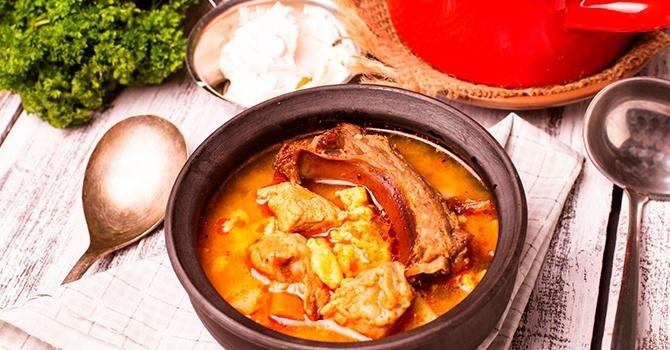 Немецкий рецепт супа-гуляша