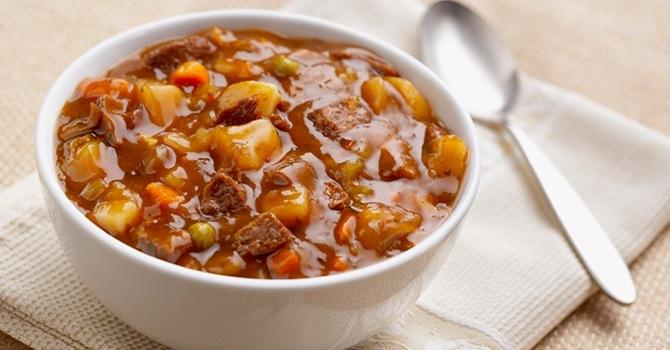 Рецепт супа-гуляша с фасолью