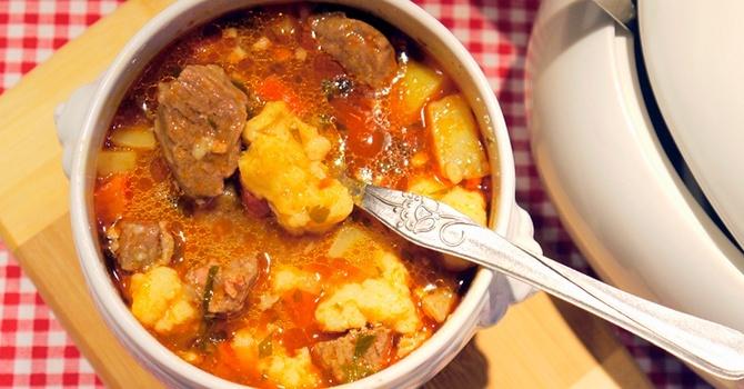 Рецепт супа-гуляша в мультиварке