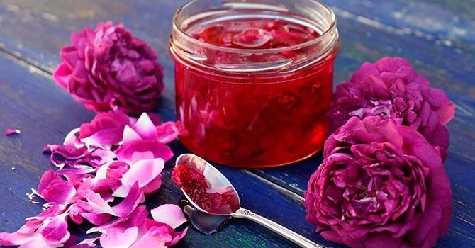 Как сделать варенье из розы