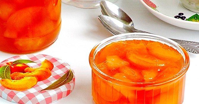 Рецепт с персиками