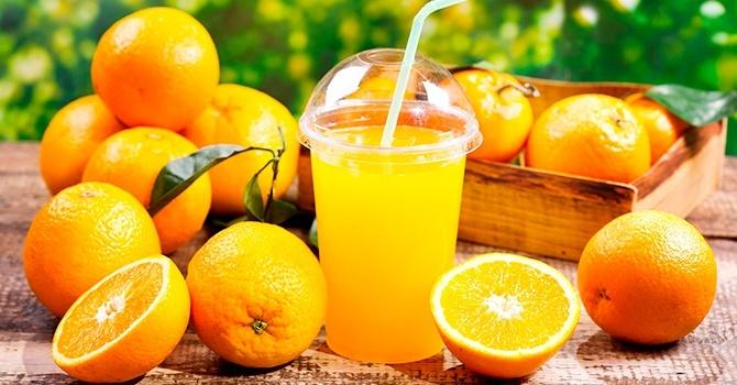 Полезный сок и цитрусовые плоды