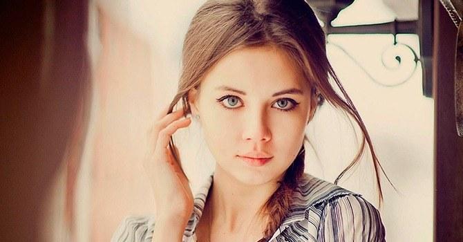 Прекрасные влюбленные глаза