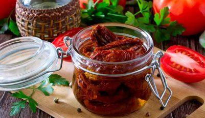 Вяленые помидоры - рецепт приготовления в домашних условиях