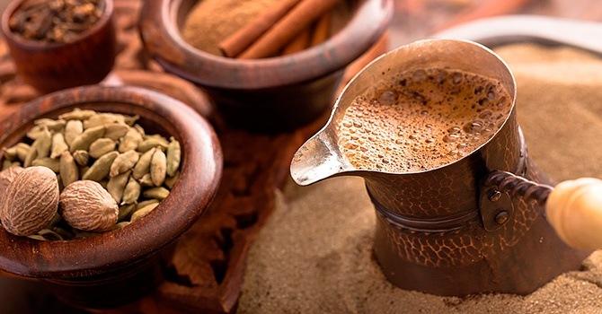 Ароматный кофе с кардамоном