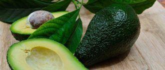 Авокадо: полезные свойства и противопоказания
