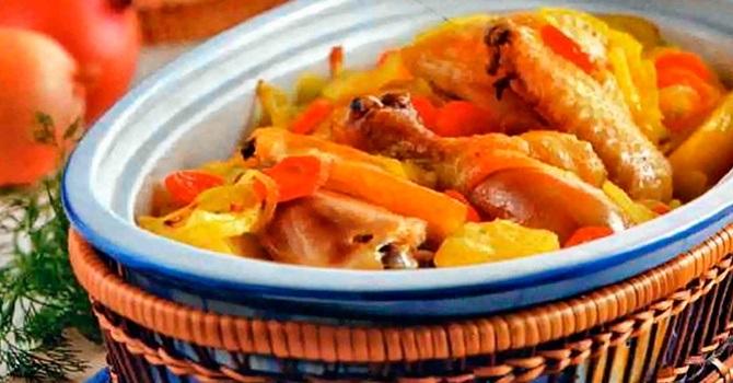 Рецепт из курицы