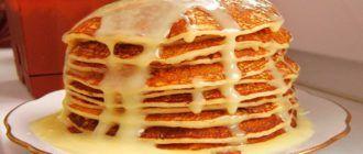 Блины со сгущенкой, как приготовить вкуснейший десерт