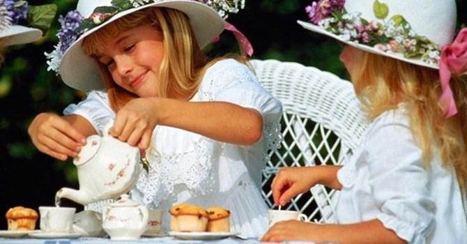 Целебный чай на мяте для детей