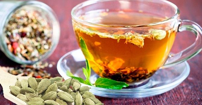 Чай с кардамоном для мужского здоровья