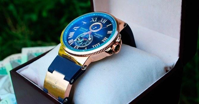 Часы, как подарок на юбилей