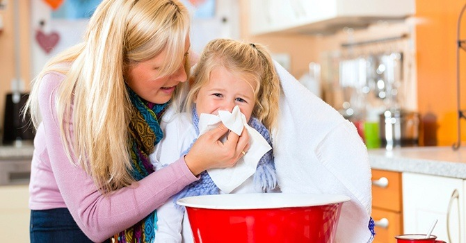 Ингаляции с душицей для детей