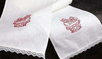 Как правильно отбелить кухонные полотенца