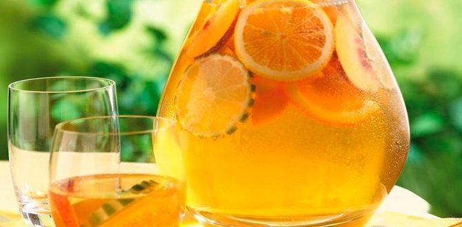 Компот из апельсинов: натуральный напиток вместо фанты
