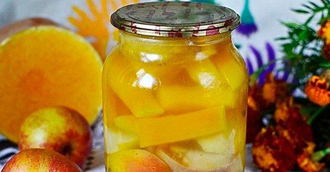 Рецепт с яблоком и лимоном