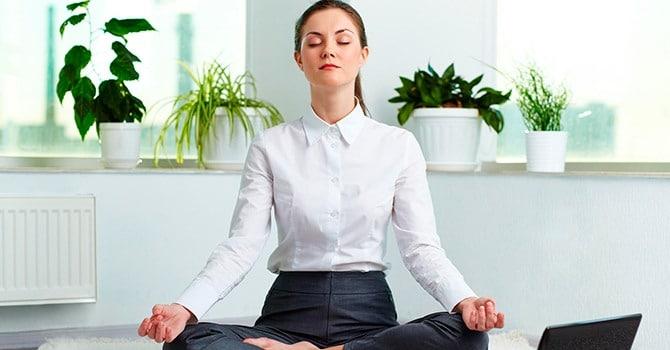 Медитация помогает восстановить силы флегматику